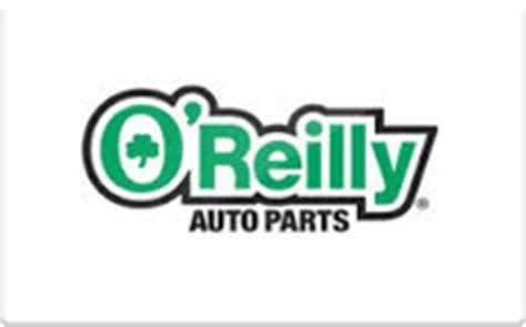 o reilly auto parts gift card check your balance online raise com - O Reilly Gift Card Balance