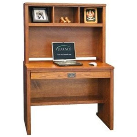 Mission Desk With Hutch Legends Mission Home Office Desk With Hutch In Oak
