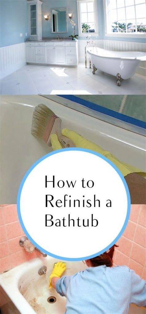 refinish bathtub diy pinterest the world s catalog of ideas