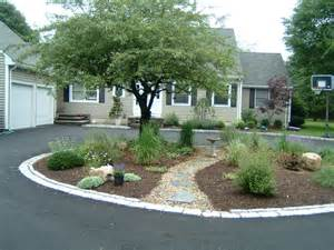circle driveway garden and terrace terrascapes