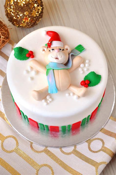 christmas fondant cakes emicakes