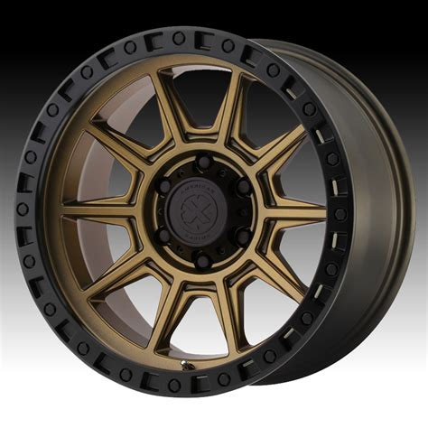 Handmade Wheels - atx series ax202 matte bronze custom wheels rims atx