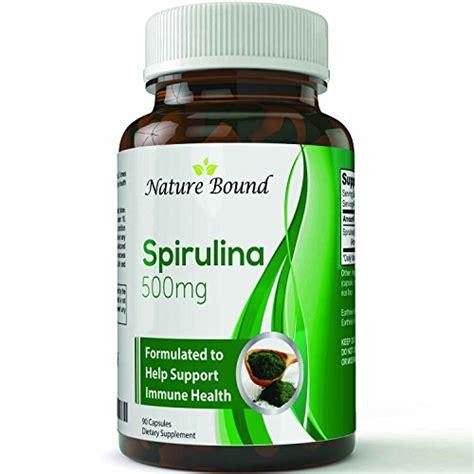 Spirulina Usa Suplement Protein nature bound spirulina extract blue green algae