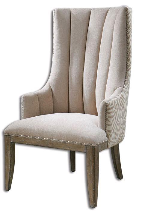 zebra print armchair zyla beige zebra print back modern accent armchair 23117