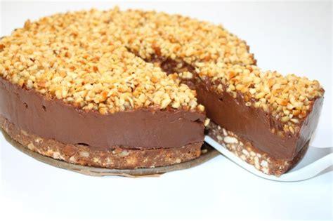 butterkeks kuchen schoko butterkeks kuchen mit frischkase appetitlich foto