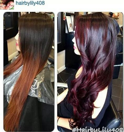 cherry cola hair color images love the cherry cola hair color capelli pinterest