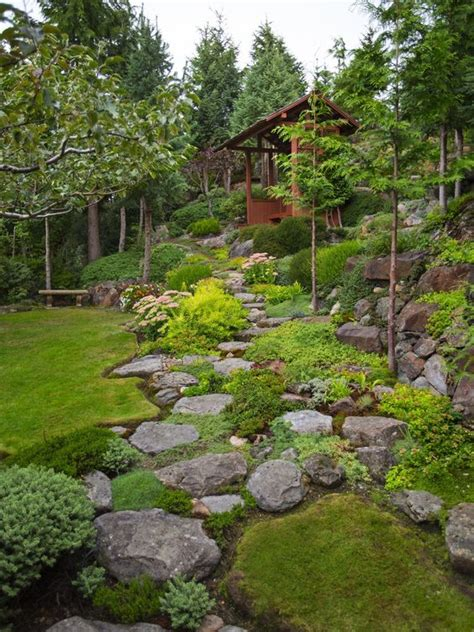 How To Landscape A Backyard by 15 Superb Mountain Garden Landscaping Ideas Houz Buzz