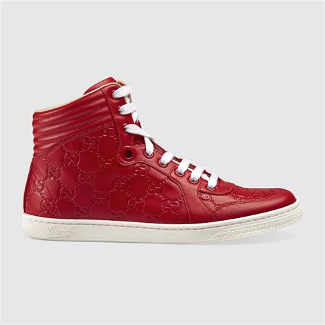 gucci high top sneakers for gucci signature high top sneaker gucci s shoes
