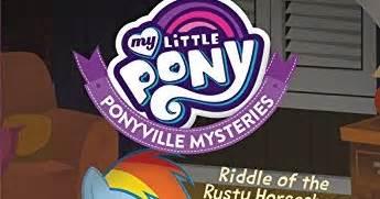 my pony ponyville mysteries peryton panic books equestria daily mlp stuff my pony ponyville