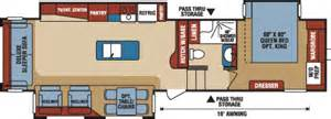 durango 5th wheel floor plans durango 2500 full profile fifth wheel floorplans photos k z recreational vehicles