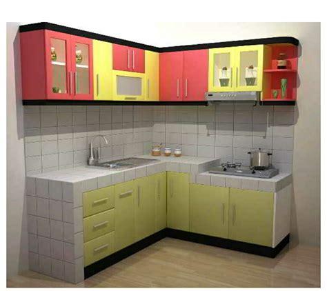 desain kabinet dapur sederhana 20 desain kabinet dapur kecil nan cantik renovasi rumah net