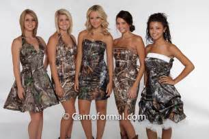Camo formal wedding dresses for a country wedding of your dreams