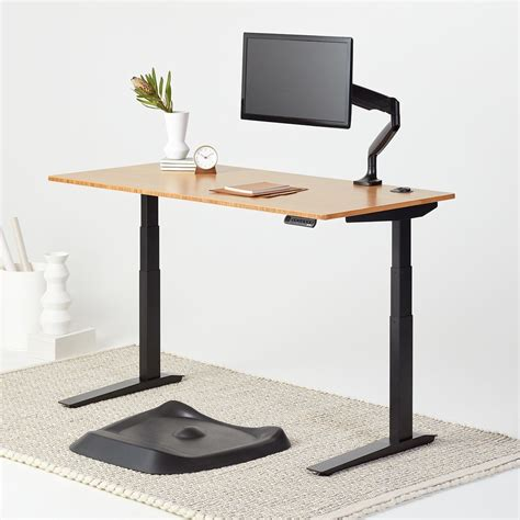 the jarvis bamboo standing desk bundle fully