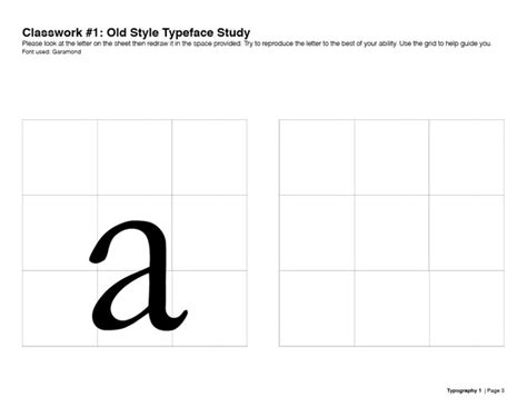 typography worksheet learning typography by typography monstress