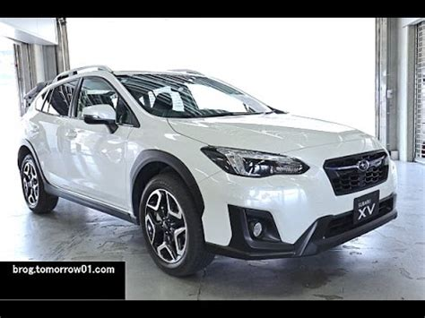 subaru xv white subaru xv 2 0i s eyesight white