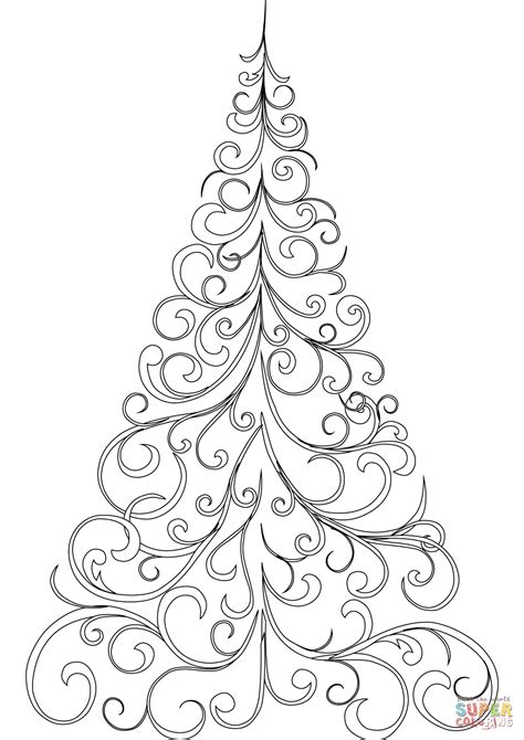 christmas tree coloring page online decorating a christmas tree coloring pages coloring