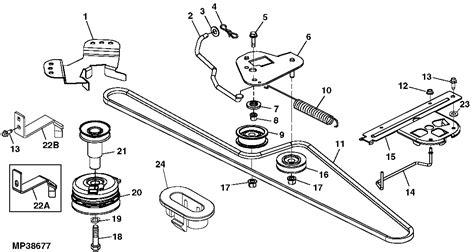 deere l130 mower belt diagram i a 2002 deere lawn tractor model l120 hydrostatic