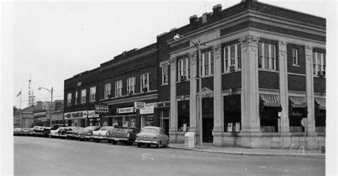 Sumner Post Office by Lore South Side Of Lawrenceville Square 1940 50