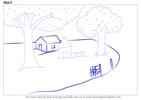 Drawing 4 Summer by Learn How To Draw Summer Scenery Summer Season Step By