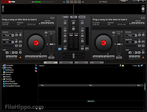 virtual dj free download full version 2012 windows 7 download virtualdj 7 0 5 filehippo com