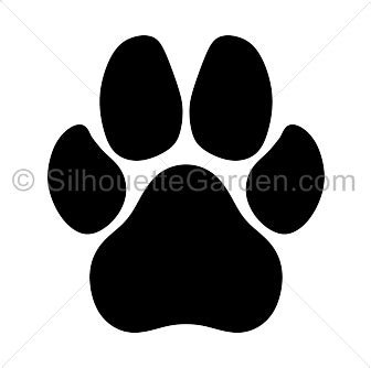 Dog Png Jpg Transparent Dog Jpg Png Images Pluspng Paw Print Silhouette