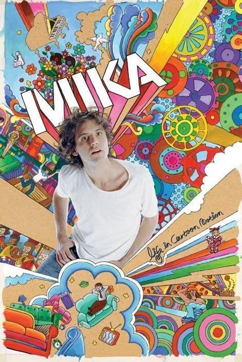 Plakat Mika mika life in cartoon motion plak 225 t obraz na zeď