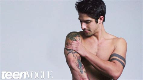 tyler posey tattoo meaning wolf s posey explains his tattoos vogue