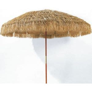 Grass Patio Umbrellas Hula Grass Big Large Outdoor Market Umbrella 8 039 Ft Raffia Patio Deck Tiki Ebay