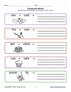 compound words worksheet adcontessa