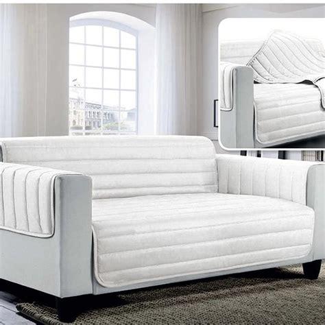 salva divano copridivano salva divano bicolore la biancheria di casa