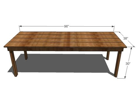 Plans For Dining Room Table by Diy Dining Room Table Plans Bombadeagua Me