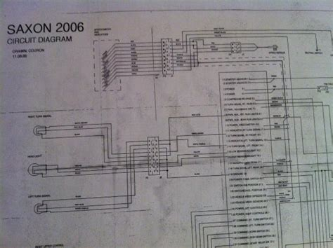 purchase saxon wiring diagram in pdf format motorcycle in