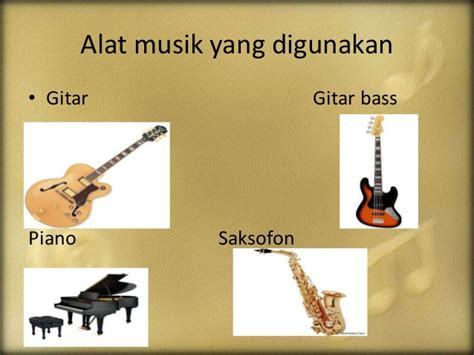 Alat Swing ppt musik jazz dan country