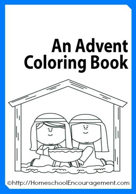 Coloring Pages For Advent free advent coloring book plus 100 s of advent coloring