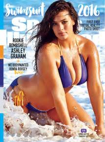Ronda rousey plus size model cover sports illustrated swimsuit