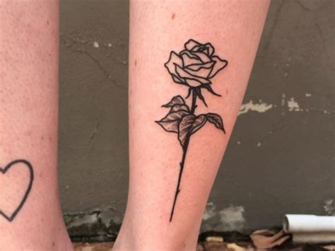 12 blackwork rose tattoos that put an edgy twist on the