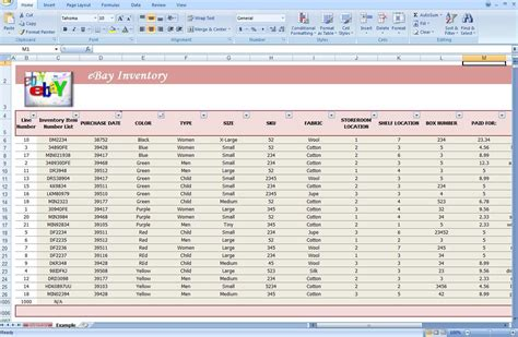 Business Inventory Spreadsheet by Business Inventory Tracking Spreadsheet Software