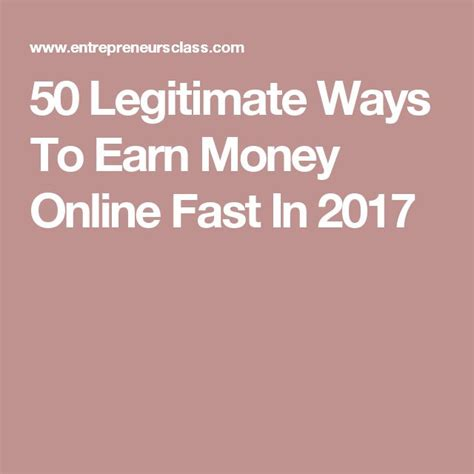 Easy Ways To Make Money Online Fast - m 225 s de 25 ideas incre 237 bles sobre earn money online fast en pinterest earn free