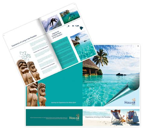 island brochure template 30 beautiful travel brochure designs