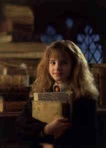 watson hermione granger with books
