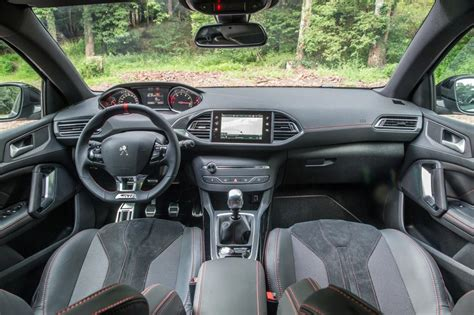 peugeot 308 gti interior 2017 peugeot 308 gti review pictures auto express