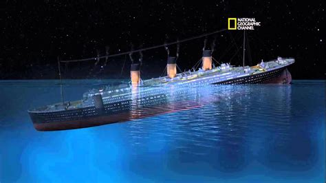 how titanic boat sank new cgi of how titanic sank youtube