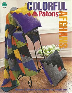 patons pattern library ravelry graphic blocks afghan pattern by patons