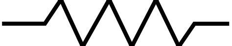scientific symbol for a resistor scientific symbols clipart best