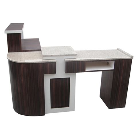 Nail Reception Desk Salon Furniture Reception Desk Manicure Table Model Rnt 01