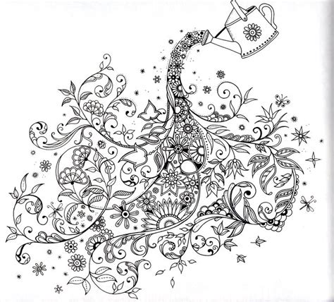 free secret garden coloring pages pdf secret garden book adult and children s coloring pages