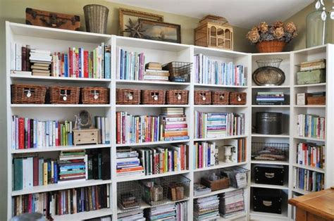 baskets for billy bookcase the row offices and ikea billy on pinterest