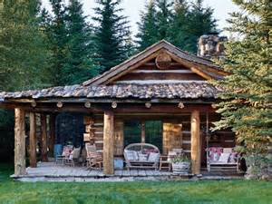ralph log cabin arquitetura