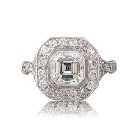 Asscher Cut Engagement Rings by Asscher Cut Engagement Rings Vintage Www Imgkid
