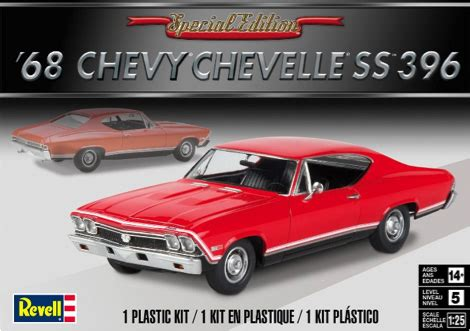 revell usa is back new 68 chevelle ss coming soon